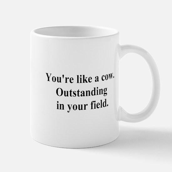 outstanding cow Mug