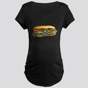 Sandwich Maternity Dark T-Shirt