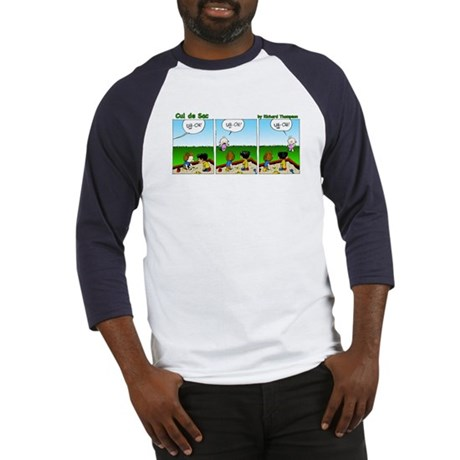 Uh-oh Baby Front Baseball Jersey