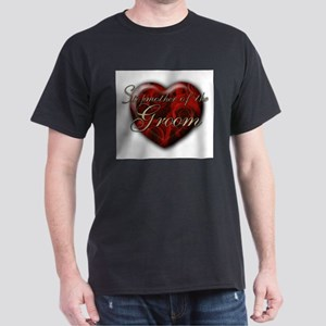 Stepmother of the Groom Black T-Shirt