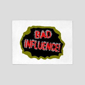 Bad Influence 5'x7'Area Rug