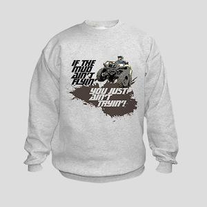 ATV RIDER Kids Sweatshirt