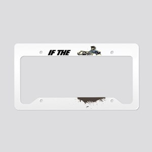 ATV RIDER License Plate Holder