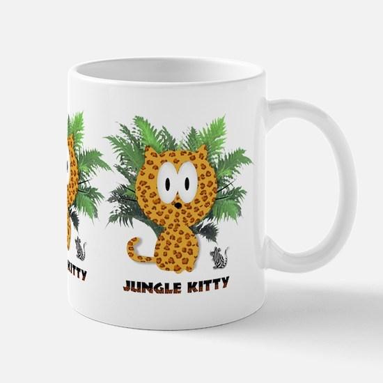 jungle kitty Mug