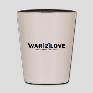 War2Love Balance Shot Glass