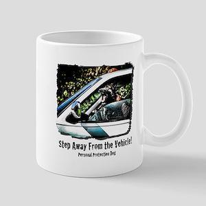 Step Away From the Vehicle Mug