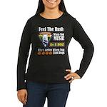 Feel The Rush!! Women's Long Sleeve Dark T-Shirt