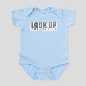 LOOK UP - Chemtrails Infant Bodysuit