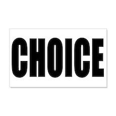 Choice Wall Decal