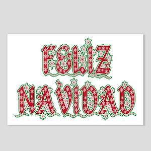 Feliz Navidad Postcards (Package of 8)