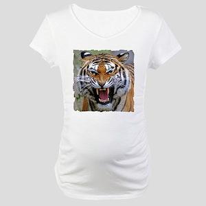 FIERCE BENGAL TIGER Maternity T-Shirt