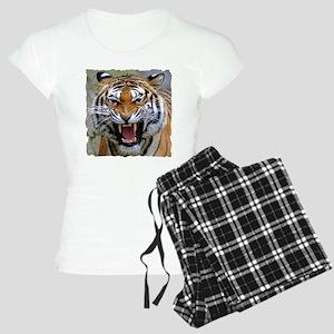 FIERCE BENGAL TIGER Women's Light Pajamas