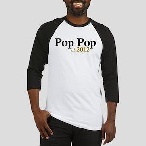 Pop Pop Est 2012 Baseball Jersey