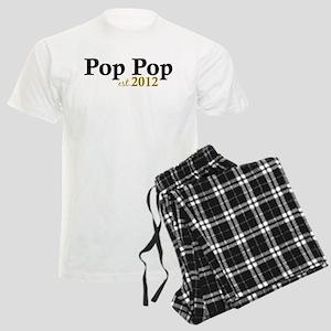 Pop Pop Est 2012 Men's Light Pajamas