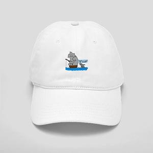 elephant and shark Cap