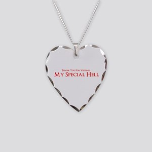 My Special Hell Necklace Heart Charm