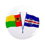 "Cape Verde Flags 3.5"" Button (100 Pack)"