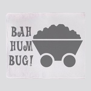 Bah Hum Bug Throw Blanket