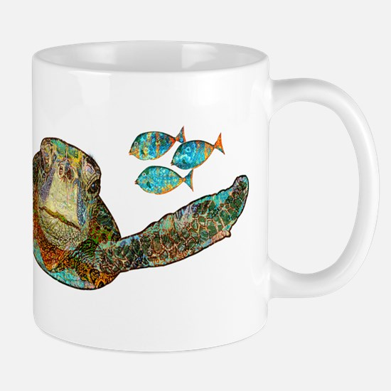 Flying Sea Turtle Mug