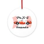 Miata MX5 Canada Ornament (Round)