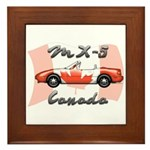Miata MX5 Canada Framed Tile