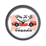 Miata MX5 Canada Wall Clock