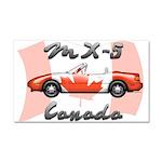 Miata MX5 Canada Car Magnet 20 x 12