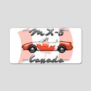 Miata MX5 Canada Aluminum License Plate