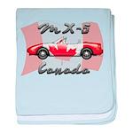 Miata MX5 Canada baby blanket