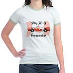 Miata MX5 Canada Jr. Ringer T-Shirt