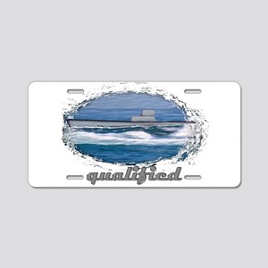 qualified submariner Aluminum License Plate