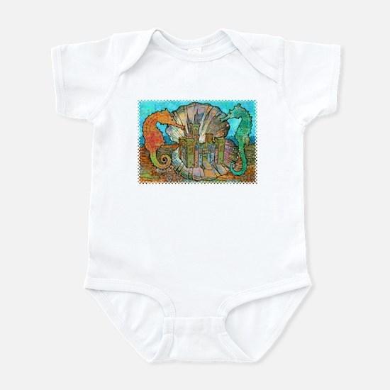 Sea Horse Castle Infant Bodysuit