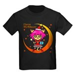 Xmas cat Kids Dark T-Shirt