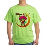 Xmas cat Green T-Shirt