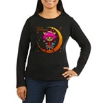 Xmas cat Women's Long Sleeve Dark T-Shirt