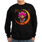 Xmas cat Sweatshirt (dark)