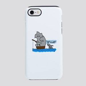 elephant and shark iPhone 7 Tough Case