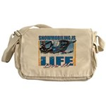 Snowmobiling is Life Messenger Bag