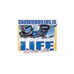 Snowmobiling is Life38.5 x 24.5 Wall Peel