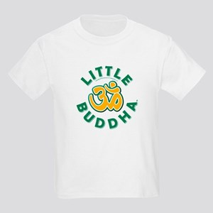 Little Buddha Yoga Symbol Kids Yoga Clothes Tee U