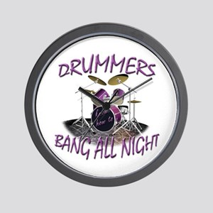 Drummers Wall Clock