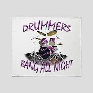 Drummers Throw Blanket