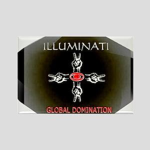 Jmcks Illuminati Rectangle Magnet