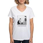 Mimin Simon' Women's V-Neck T-Shirt