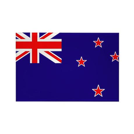 New Zealand National Flag Rectangle Magnet