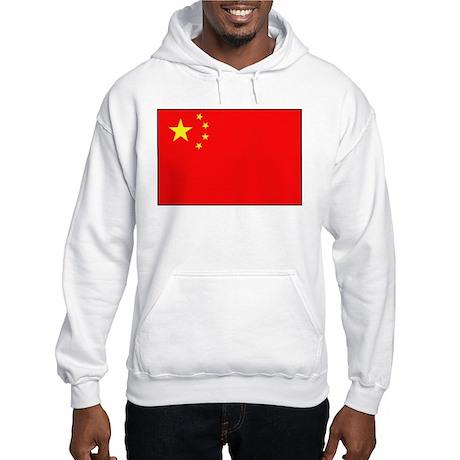 Chinese national Flag Hooded Sweatshirt