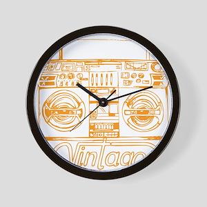 GHETTO BLASTER Wall Clock