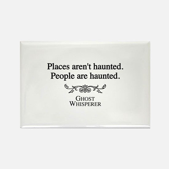 Ghost Whisperer Haunting Rectangle Magnet