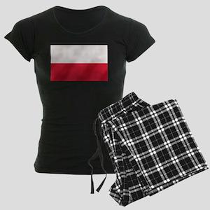 Flag of Poland Women's Dark Pajamas