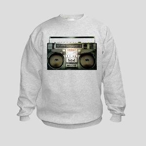 RETRO BOOMBOX Kids Sweatshirt